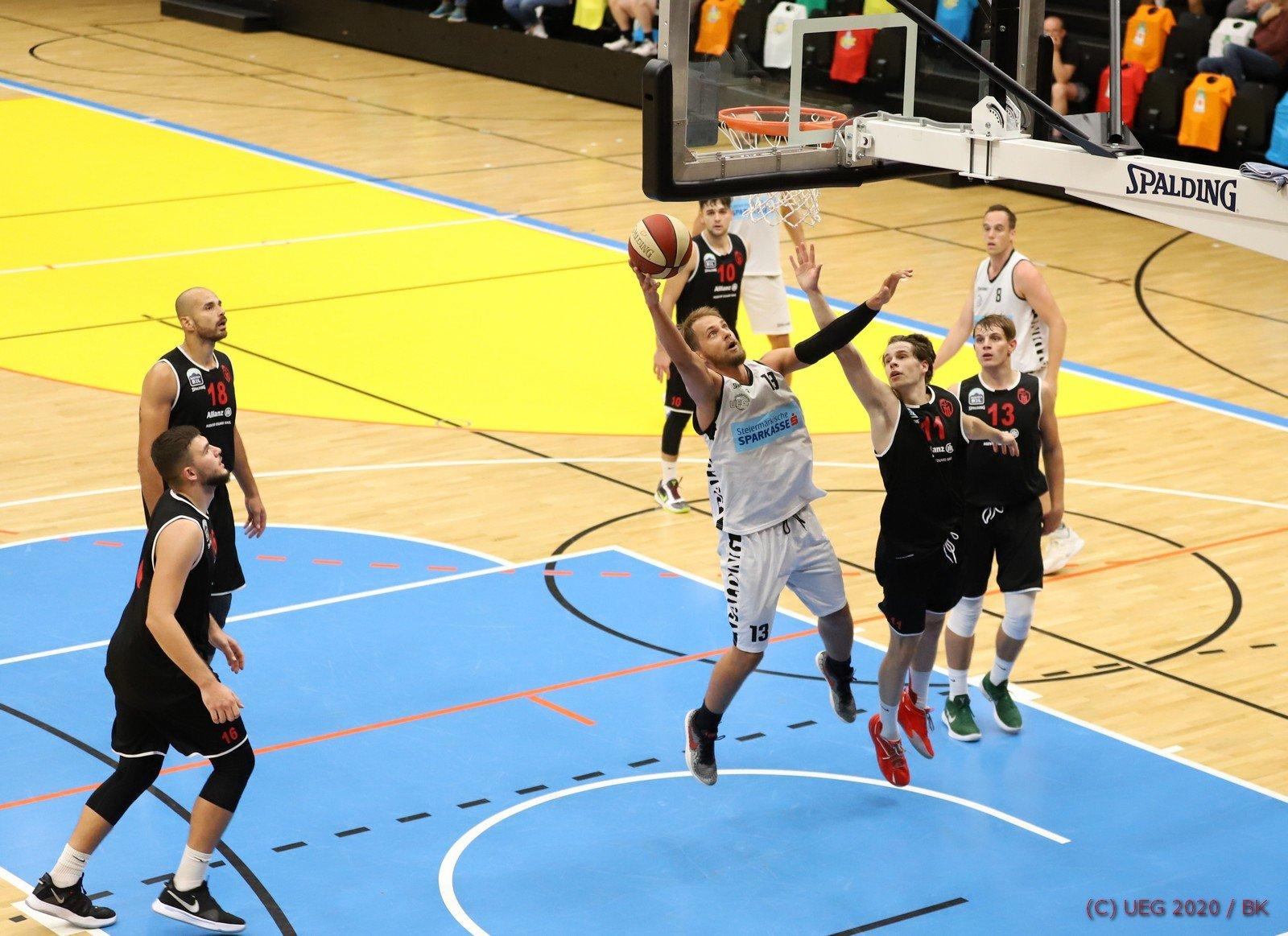 19.09.20, Graz, Austria, BASKETBALL, Basketball Austria Cup, Vorrunde, UEG vs. Mistelbach Mustangs